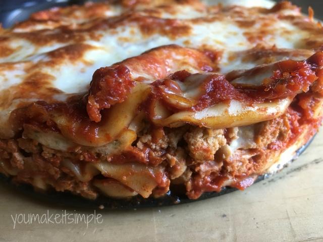 youmakeitsimple.com yummy Instant Pot Lasagna