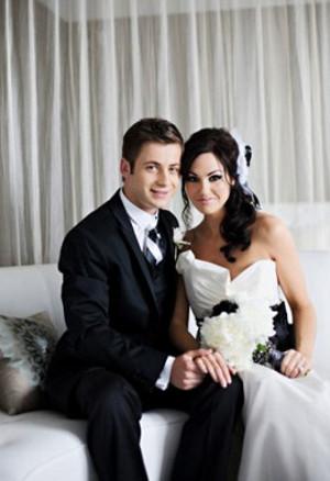 Черно-белая свадьба - строгая и элегантная