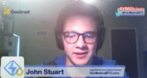 John Stuart on #YMBLive Bitcoin Headlines
