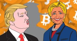 Trump vs. Hillary in Bitcoin