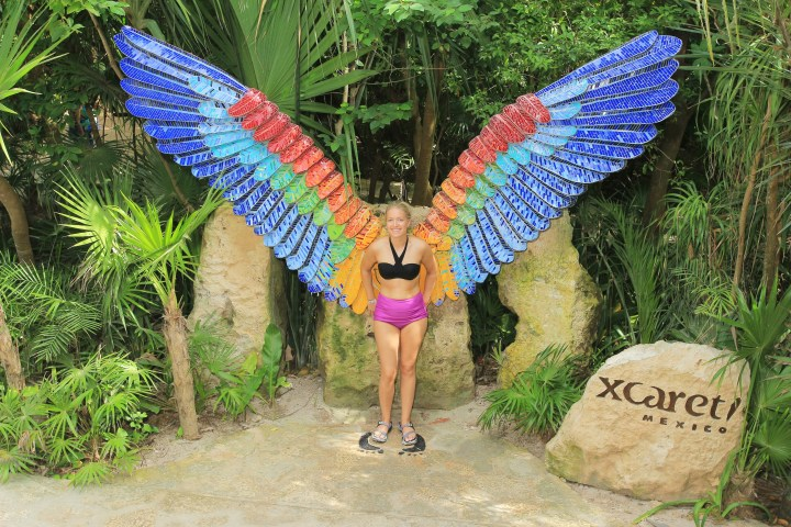 OUR DAY AT XCARET