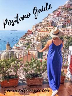 Guide to Positano, Italy for one day featuring Spiaggia Grande beach, Church of Santa Maria Assunta, lemon sorbet, and more!