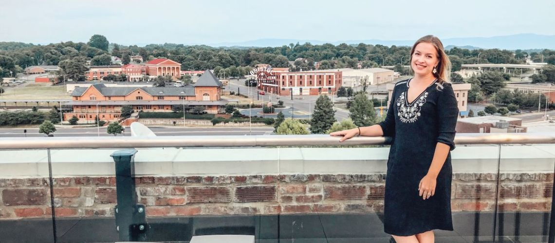 Get the Best View of Two States from this Rooftop Bar