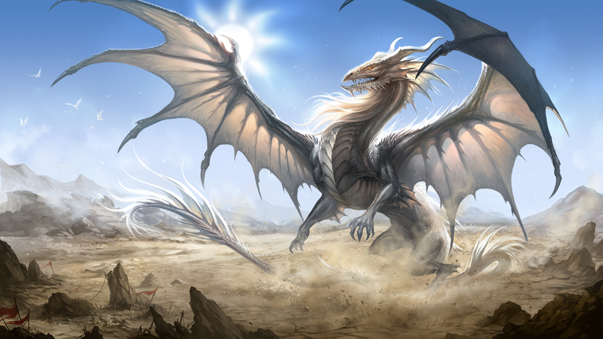 Dragon Wallpaper Free PC Wallpapers SaxonyBlue