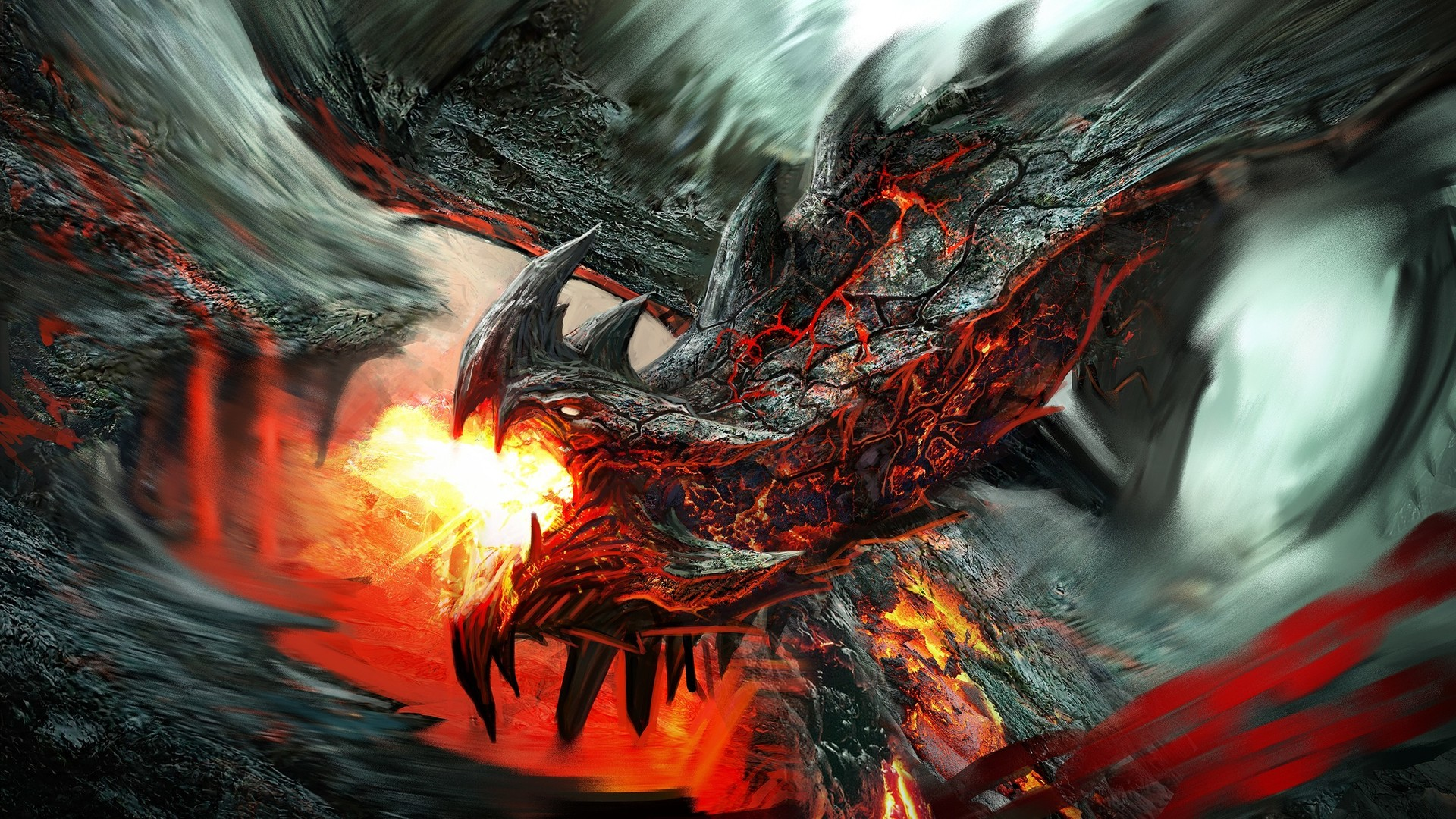 Top 50 hd dragon wallpapers images backgrounds desktop wallpapers fire dragon fire lava dragon voltagebd Gallery