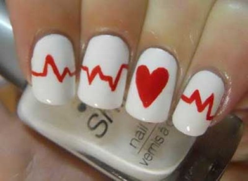 simple nail art design