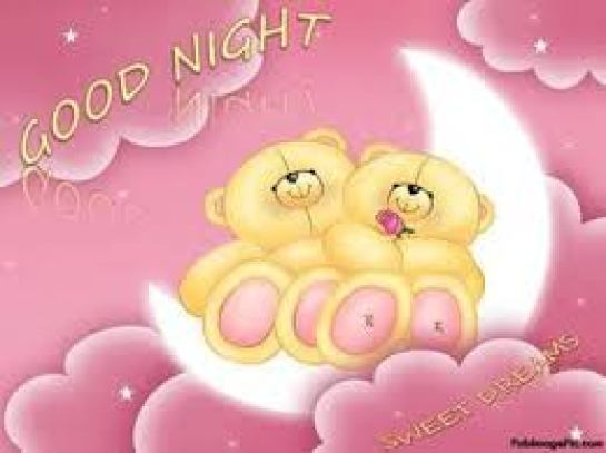 good night cute pic