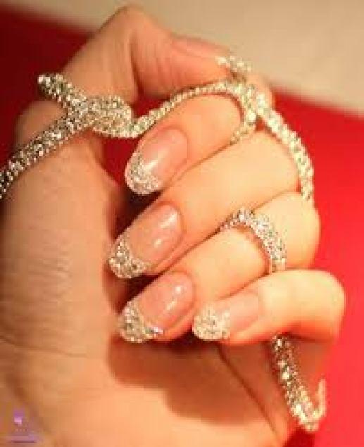 party nail art pic