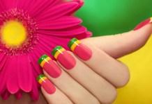 latest nail art design 2015
