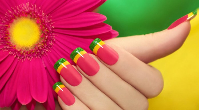latest nail art design 2015