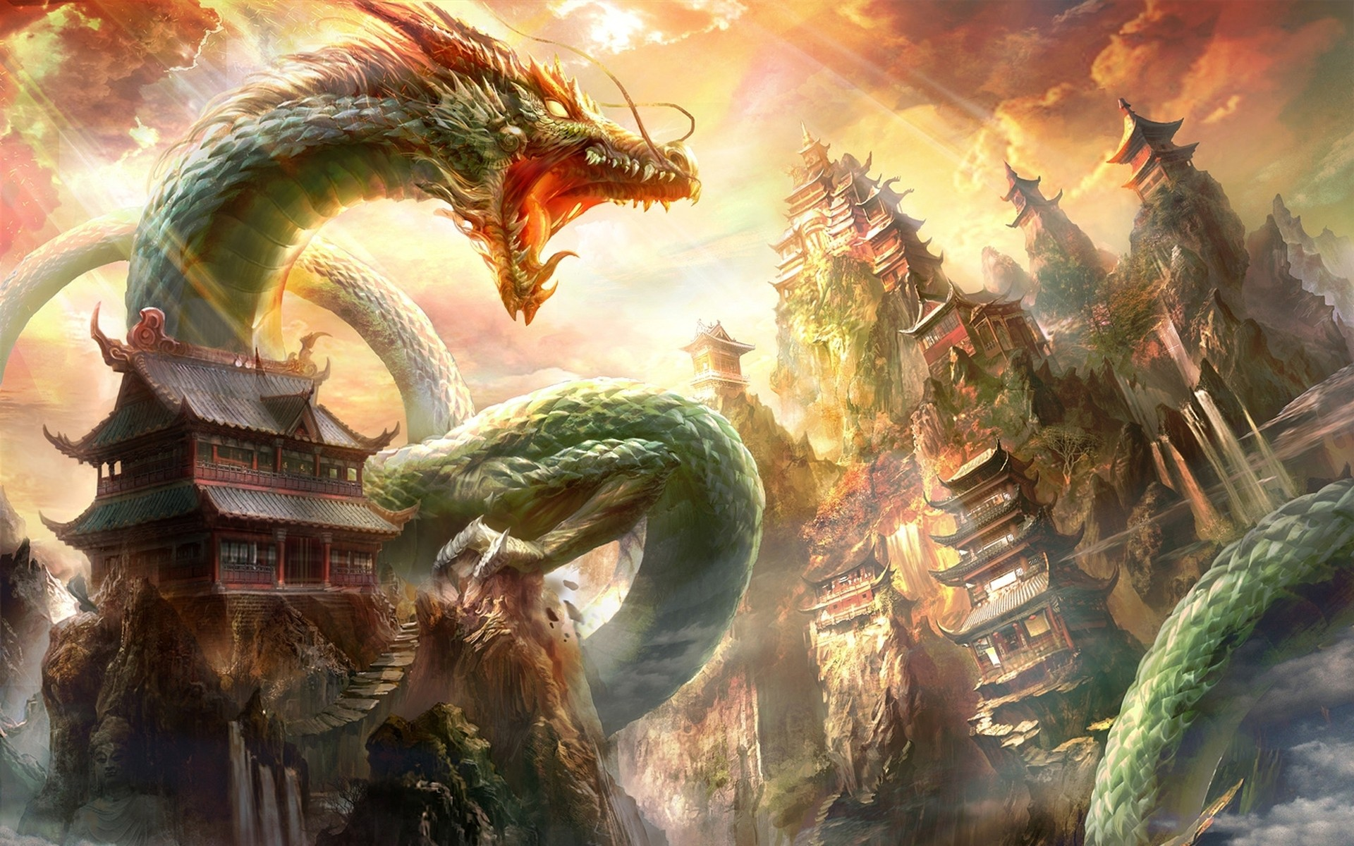 top 50 hd dragon wallpapers, images, backgrounds, desktop wallpapers