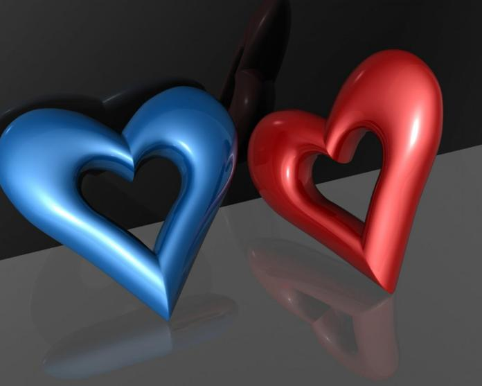Romantic-Love-Heart-Shaped-Wallpaper For Window 8