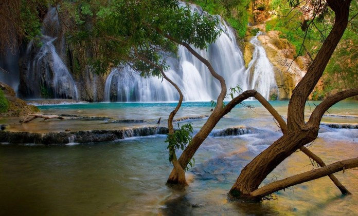 Waterfall Nature HD Wallpaper For WideScreen