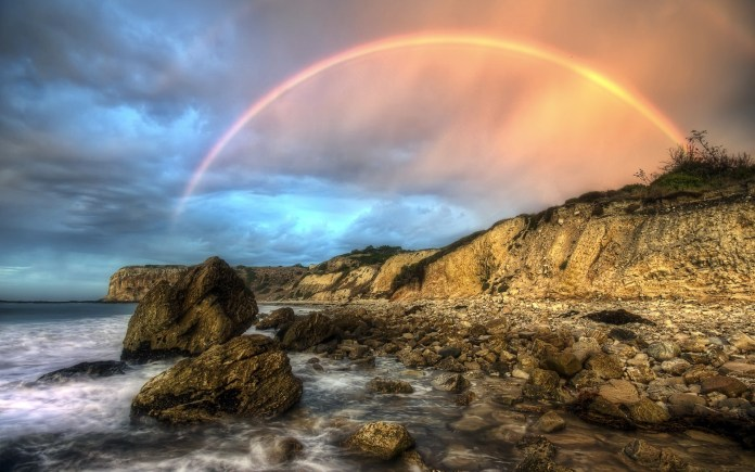 Rainbow HD Wallpaper For PC