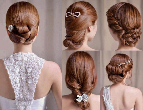 Top 30 most beautiful indian wedding bridal hairstyles for every romantic wedding hairstyle for bride junglespirit Image collections
