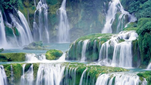 Waterfall Nature HD Wallpaper For Android