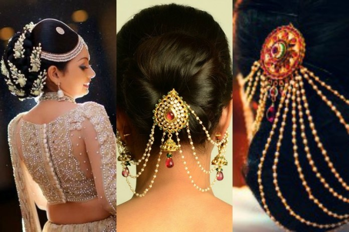 indian wedding bridal hairstyle