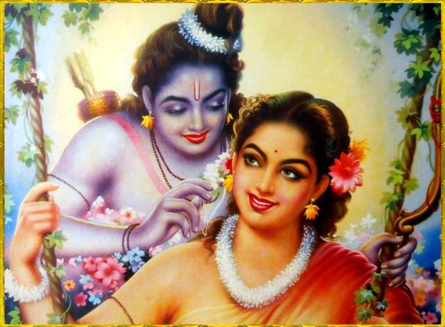 ram sita beautiful love photos