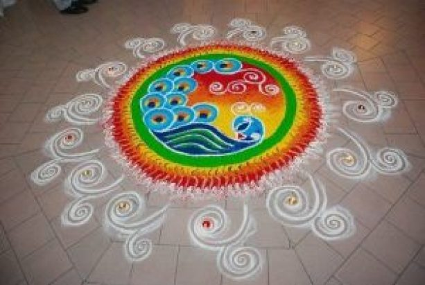 latest rangoli designs