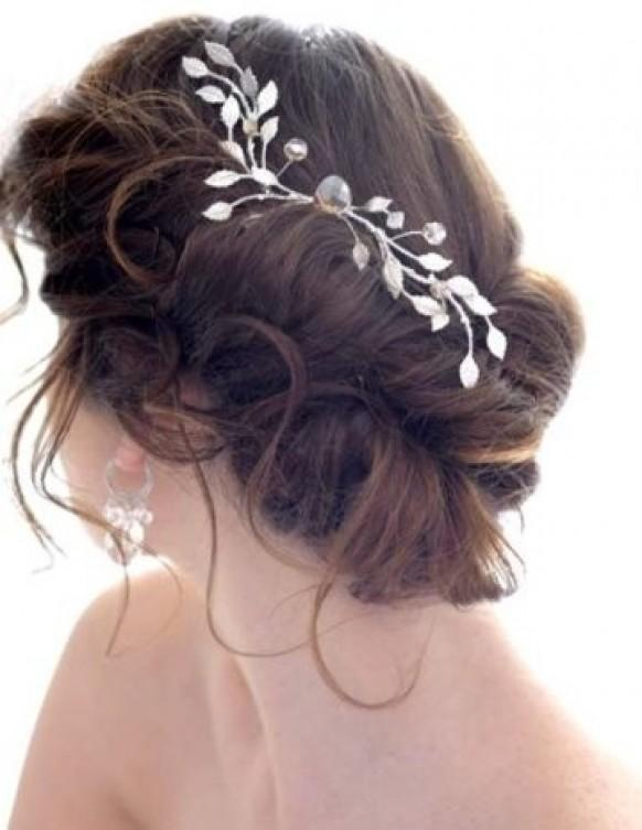 Image Result For Bridal Hairstyles For Short Medium Curly Hairs