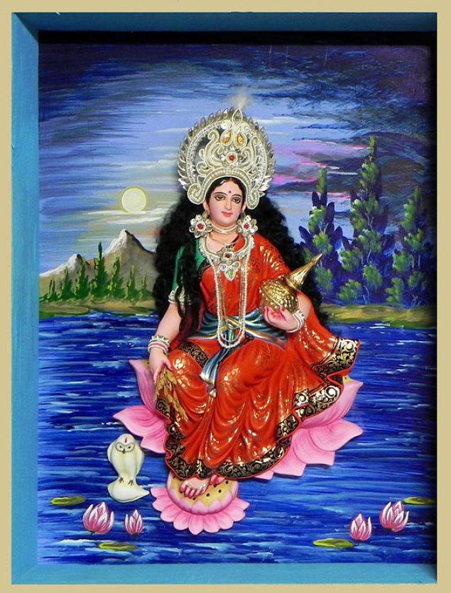 Goddess Laxmi Abstract Images