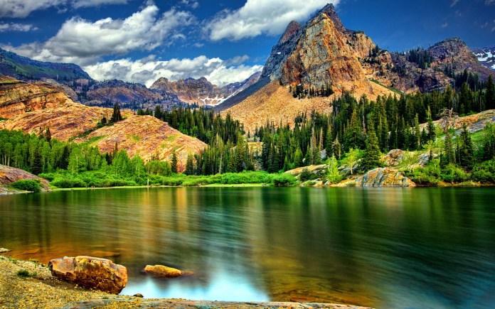 Mountain Nature HD Wallpaper For Desktop Background