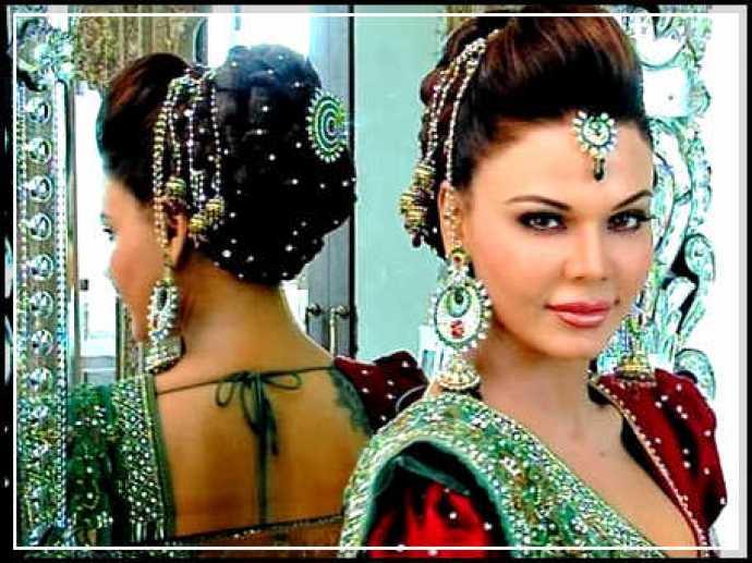 celebrity bridal photo