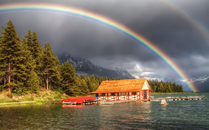Rainbow HD Wallpaper For WideScreen