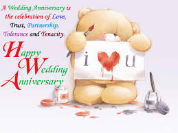 Cute happy wedding anniversary pictures
