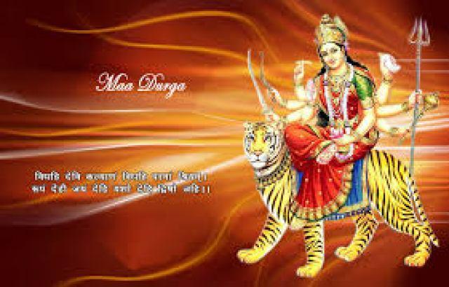 Navratri Wishes Durga Maa Vaishno Devi Images Wallpapers