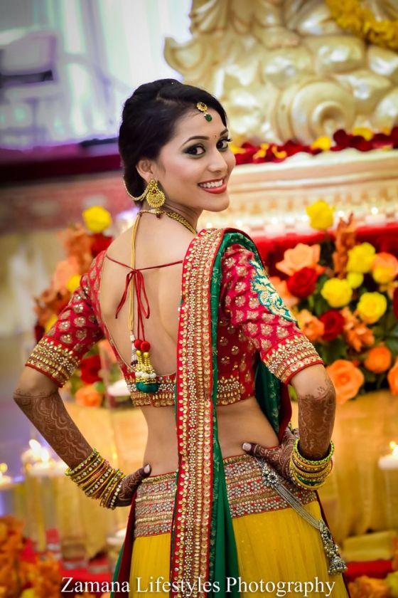 traditinal indian bride