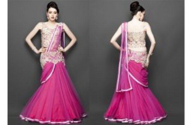 pink lehanga pics