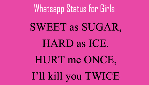 Funny Status WhatsApp DP For Girls
