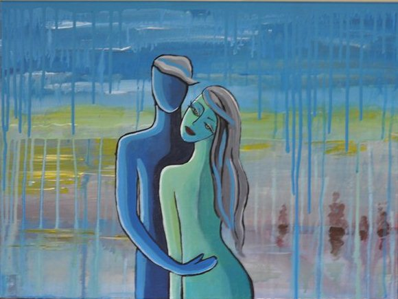 lovers art painting
