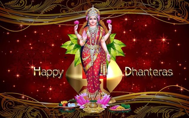 happy dhanteras goddess lakshmi images