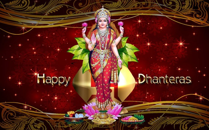 happy dhanteras goddess lakshmi images