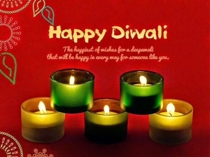 happy diwali e cards