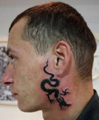 Cool Neck Tattoo Designs For Men