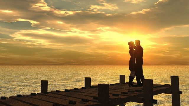 romantic love couple pictures