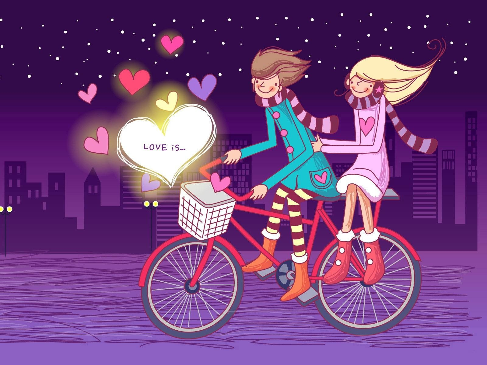 Love Wallpaper Hd cartoon : Top 150+ Beautiful cute Romantic Love couple HD Wallpaper