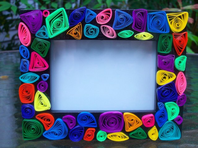 best photo frame paper quilling designs