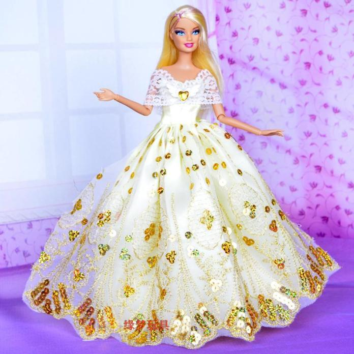 barbie wedding dress pictures