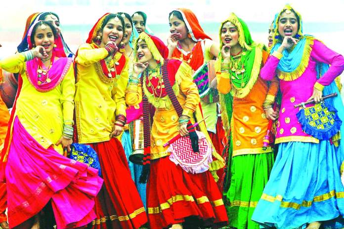 bhangra dance images