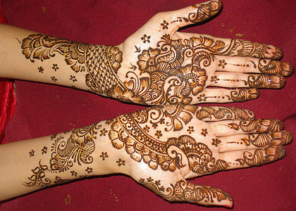 groom shadi mehndi designs