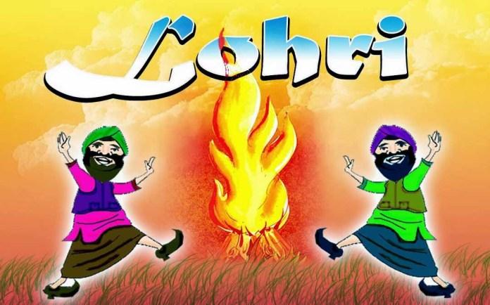happy lohri images hd