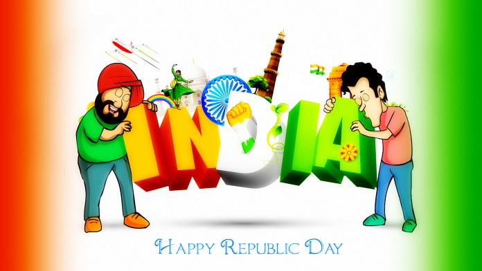 Happy Republic Day Funny Wallpapers HD