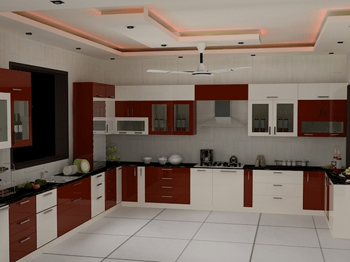 Top 10 best indian homes interior designs ideas Indian kitchen design picture gallery