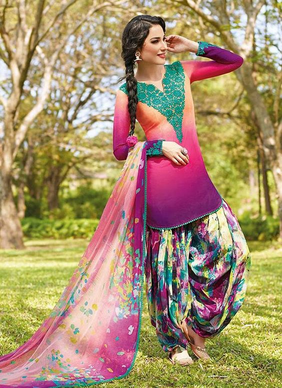 plain salwar kameez designs for bride