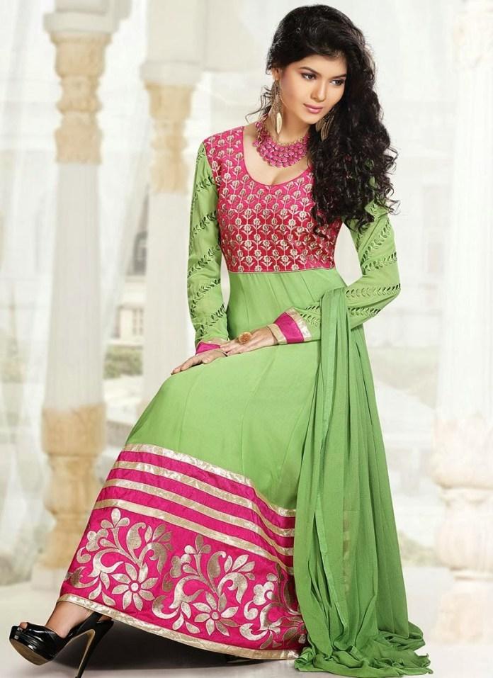 simple pakistani dress designs for brides sister