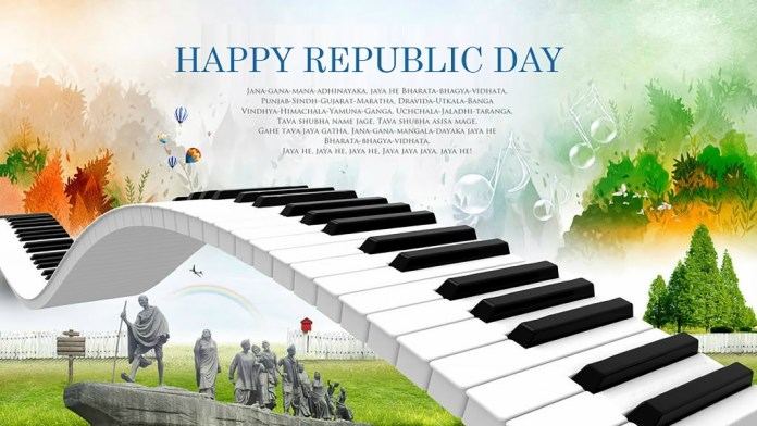Happy Republic Day Wishes Images for Widescreen